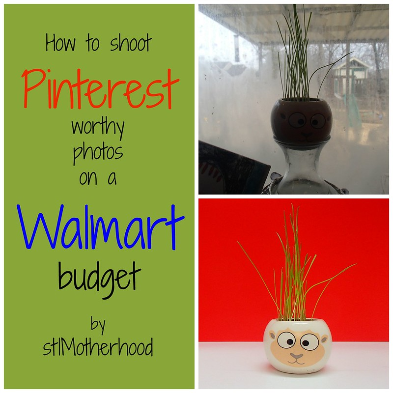 how to shoot pinterest photos on a walmart budget