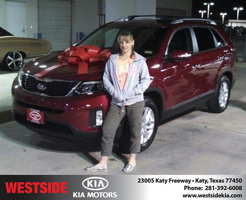 Happy Birthday to Tisha Kelley from Gil Guzman and everyone at Westside Kia! #BDay by Westside KIA