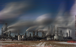 Refinery Row at -30C