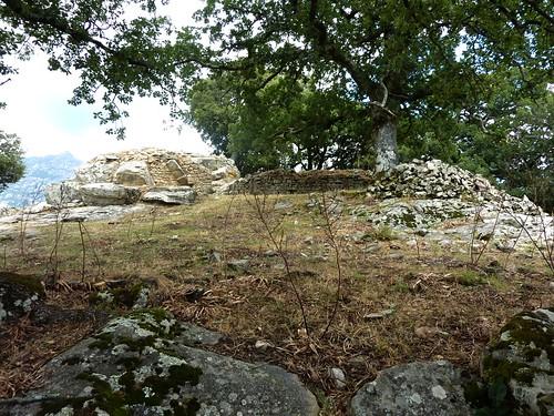 Arrivée au castellu médiéval de Tavera