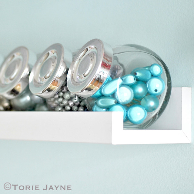 Organised large beads