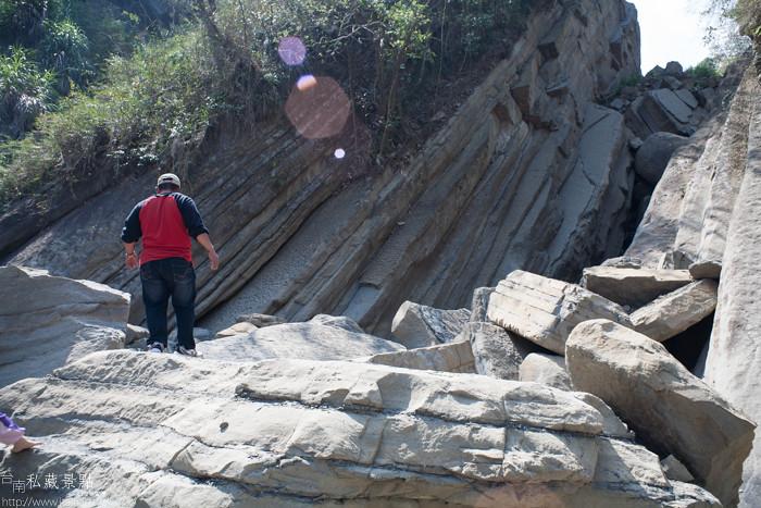 台南私藏景點--關山千層岩瀑布、幽情瀑布 (18)
