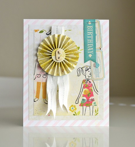Happy BDay Card - Pretty Party style by CloudsShadler