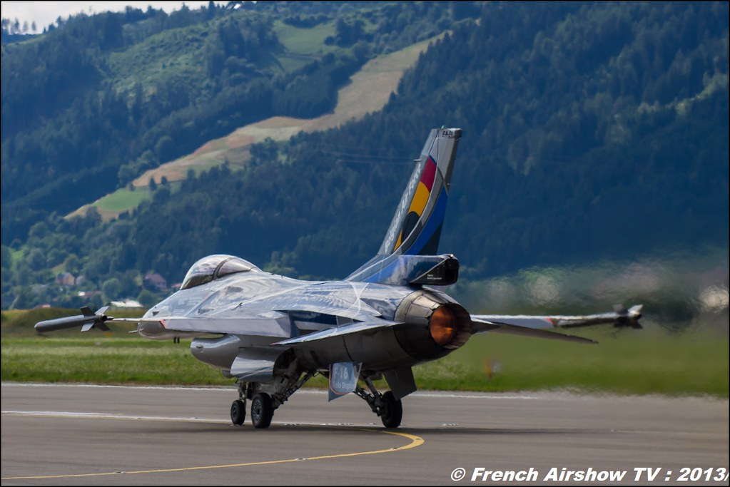 F-16 Solo Display Belge 2013