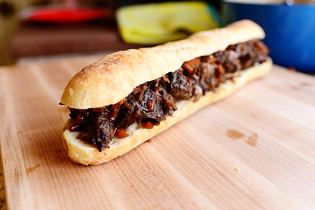 Short Rib Sandwiches