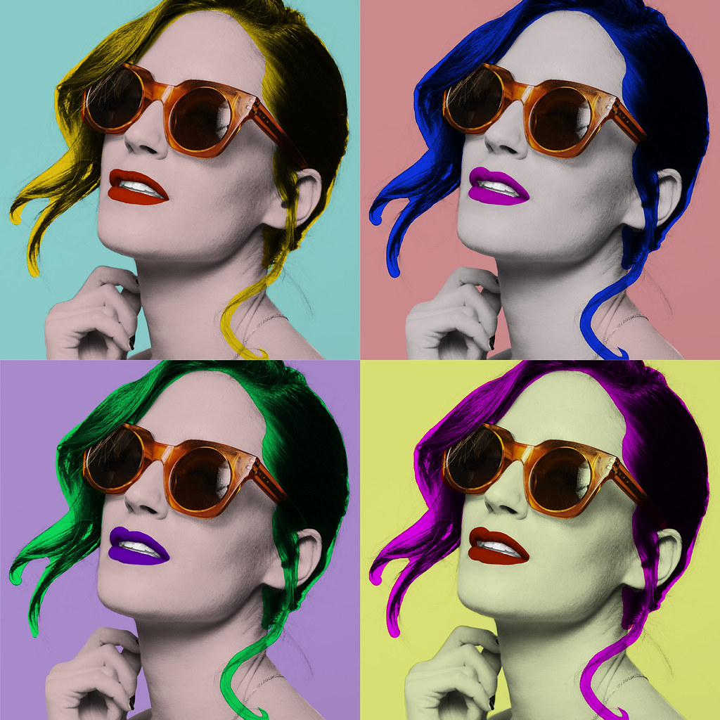 Gala Gonzalez for Safilo - colour edition