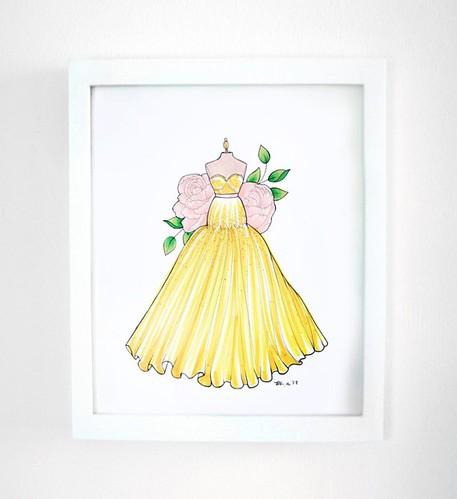Evening Dress Sketch