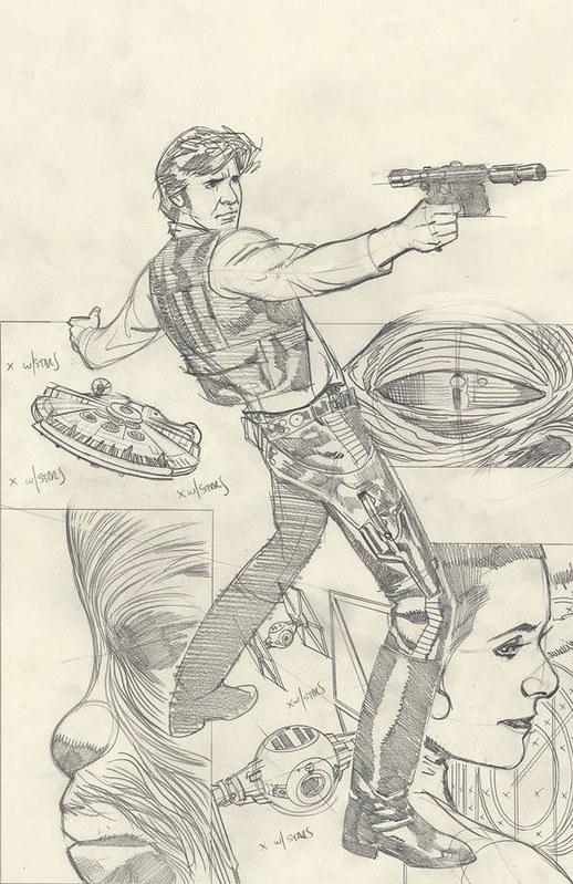 'Star Wars: Rebel Heist #1' Adam Hughes ultra variant cover