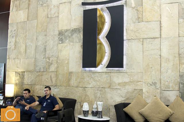 B Hotel Lobby logo