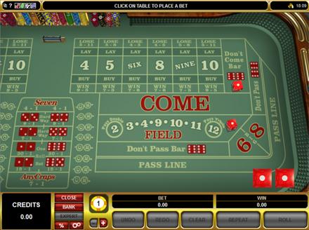 Vegas Craps Online