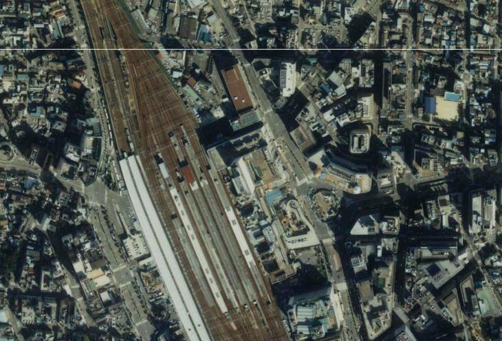 1990年の名古屋駅