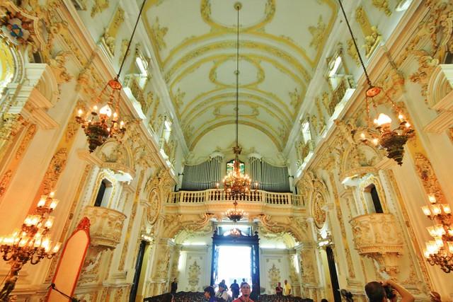 Interior da Igreja de Santa Cruz dos Militares