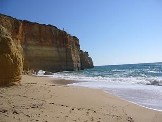 Playa con Acantilado. Algarve