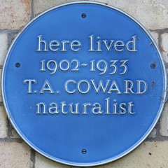 Photo of Thomas Coward blue plaque