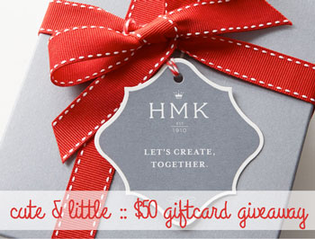 cute and little fashion blog hmk giveaway