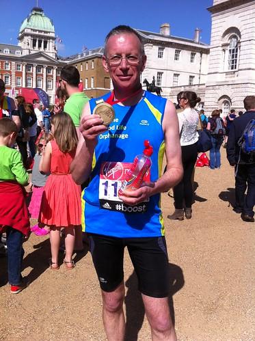 Andrew completes the London Marathon 2014
