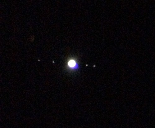 Jupiter and some Moons