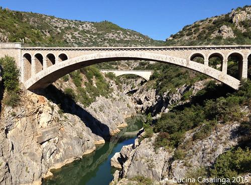 Pont du Diable Blick Strasse