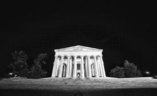 Orion over the Jefferson Memorial
