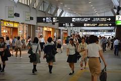 岡山駅東西自由通路