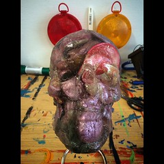 #skull #death #art #kunst