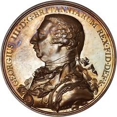 Lot 18 George III Hudson Bay Company Indian Peace Medal