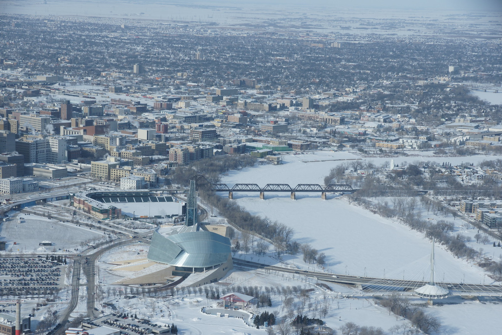Winnipeg from above