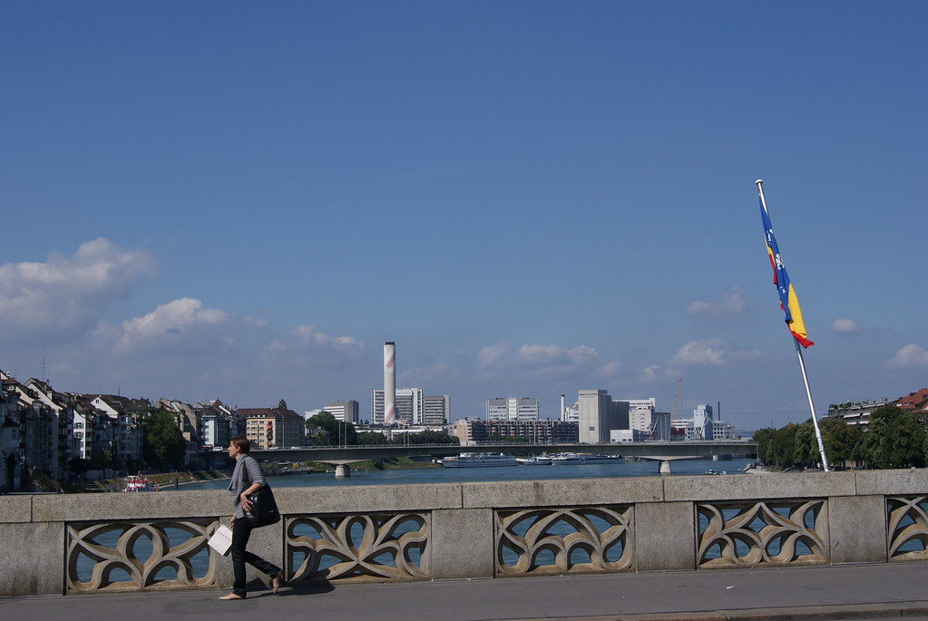 Basel von Mittlere Brücke
