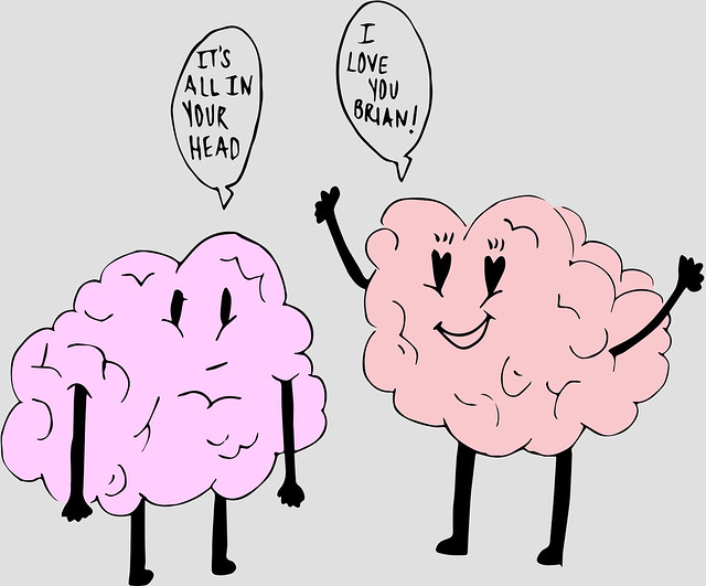 Falling in love? It's not your heart, it's your brain