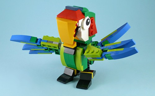 LEGO Creator 31031 Rainforest Animals 14