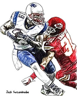 New England Patriots Brandon LaFell - Kansas City Chiefs Marcus Cooper