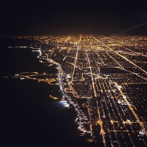 Chicago, the grid by the lake
