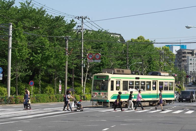 Tokyo Train Story 都電荒川線 2016年5月5日
