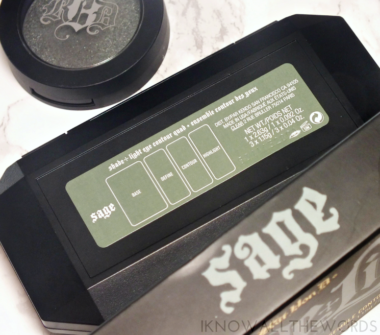 kat von d shade + light eye contour palette in sage (4)