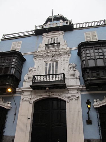Lima: la Casa Osambela dans le centre historique