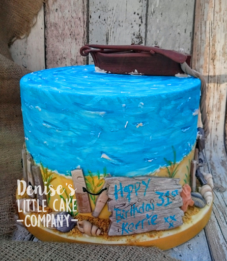Cake by Denise Stone of Denise's Little Cake Company