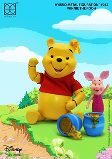 HEROCROSS【小熊維尼】Winnie The Pooh HMF#042