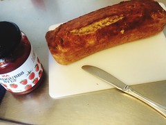 Cake Bananabread Strawberryjam Food Foodphotograph…