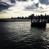 Good morning! Have a fantastic day!! #summer16 #morningcommute #hobokenriverfront