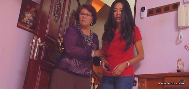 Hani (Lana Nordin) dan maknya (Norlia Ghani) yang sentiasa merancang untuk menghancurkan perkahwinan anaknya, Azman