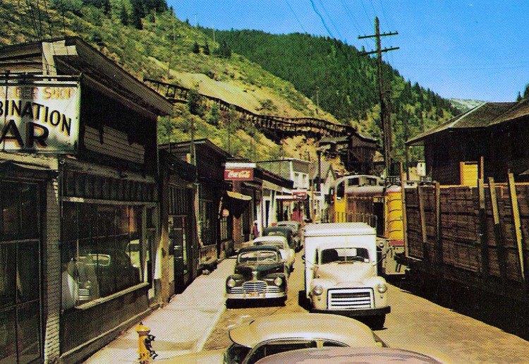 Burke Idaho 1950's