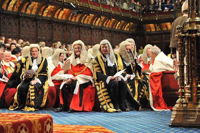 Judges await the Queen's Speech