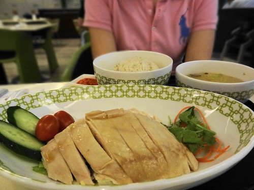 Hainan Chicken Rice@Sentosa