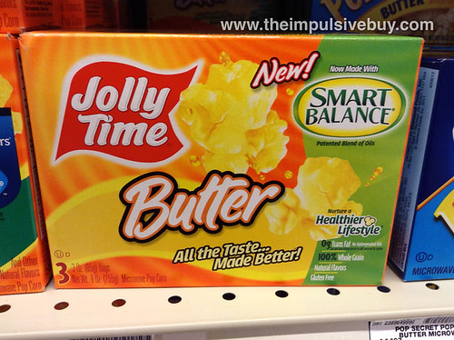 Jolly Time Butter made with Smart Balance