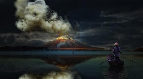 El Fuji se enfada