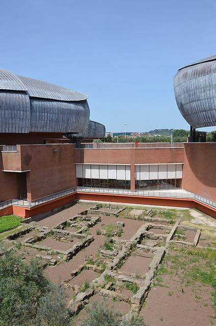 Parco Auditorium della Musica di R. Piano e antica casa romana