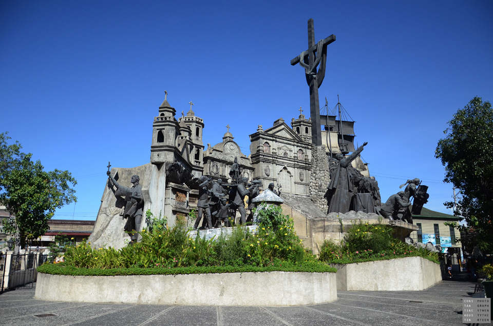 The Cebu heritage monument. One of Cebu City's many highlights
