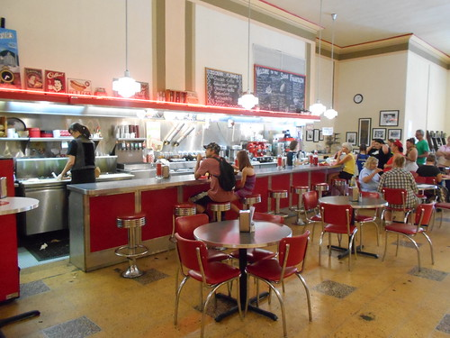 Woolworth's lunch counter