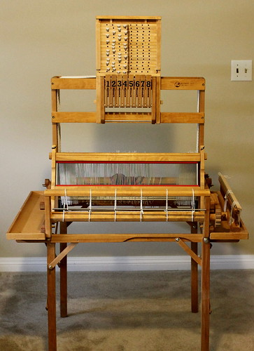 "Woolhouse Tools, 24"", 8 harness table loom"