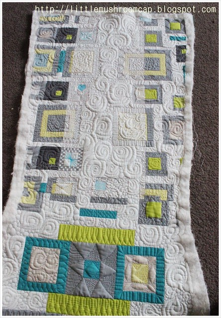 Quilted_Free motion Quilting_Angela walter Panel_Make It right Challenge